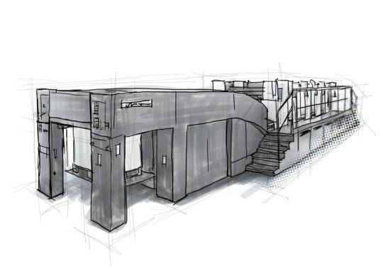 Druckerei, umweltfreundliches Drucken